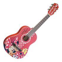 Violão Infantil Acústico PHX Vid-Mn1 Minnie Verniz Brilhante -