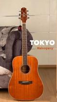 Violão Seizi Tokyo Folk Mahogany -