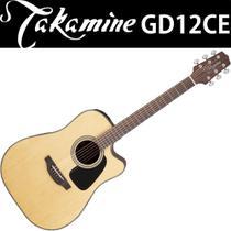 Violão Takamine GD12 ce Natural Satin Fosco TP4T Folk -