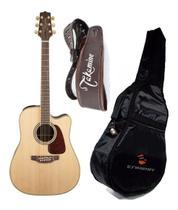 Violão Takamine  Gd71 Aço Folk Pré Tk-40 + Bag Almofadada + Correia Couro -