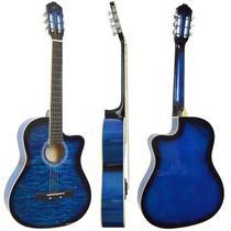 Violão Vogga Acústico VCA217NC BL Azul -