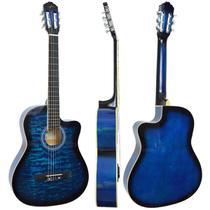 Violão Vogga Acústico VCA227NC BL Azul -
