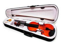 Violino 4/4 Arco Madeira C/ Breu Cavalete Estojo Luxo - Atitudemix