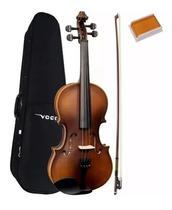 Violino Vogga 4/4 Verniz Envelhecido Estojo + Arco Von144 -