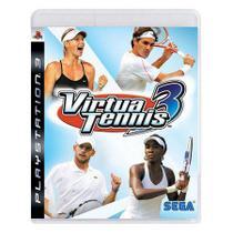Virtua Tennis 3 - PS3 - Sega