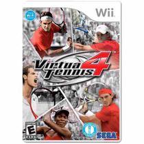 Virtua Tennis 4 - Wii - Sega