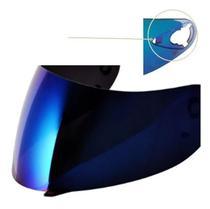 Viseira bieffe si antigo azul iridium 2.0 - POLIVISOR