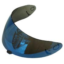 Viseira CMS GP4 GP5 GP5F Azul Iridium - Polivisor