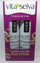 Vita Seiva Revitah Keratina Shampoo+Condcionador 300ml Cada -
