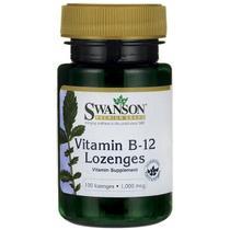 Vitamina B-12 Lozenges Swanson - Geral