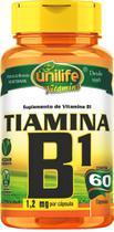 Vitamina B1 Tiamina 60 cápsulas Unilife Vitamins -