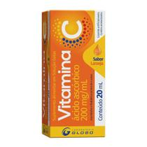 Vitamina C 200mg/ml Globo Gotas com 20ml -