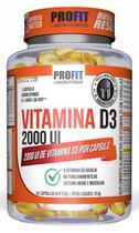 Vitamina d3 2000 ui de vitamina d3 por cápsula - Profit