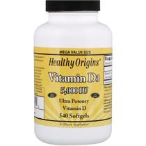 Vitamina D3 5000ui 540 Softgels Importado - Healthy Origins