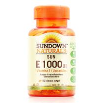 Vitamina e 1000ui - sundown - 50 caps