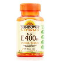 Vitamina e 400ui - sundown - 180 caps -