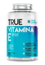 Vitamina E 500mg True Source 400 UI - (100 Cápsulas) - True source nutrition