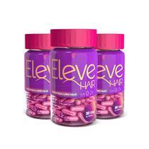 Vitamina para Cabelo - Eleve Hair - Tratamento 3 meses -