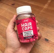 Vitamina para crescimento de cabelo até 6x mais rápido - Jenny Hair Caps