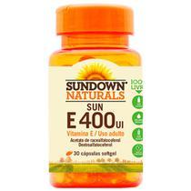Vitamina Sun E400UI 30 cápsulas Sundown -