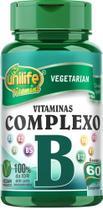 Vitaminas do Complexo B 60 comprimidos Unilife Vitamins -