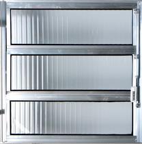 Vitro Basculante de Alumínio  0,60 X 1,00 Linha All Modular Cor Brilhante -