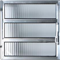 Vitro Basculante de Alumínio  0,80 X 0,80 Linha All Modular Cor Brilhante -