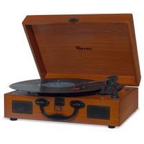 Vitrola Raveo Sonetto - Toca-Discos, Bluetooth, USB que reproduz e grava -