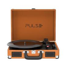 Vitrola Toca Discos Berry Suitcase Turntable SP364 - Pulse Retrô