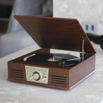 Vitrola Toca Discos De Vinil Sonata Bluetooth Bt Mp3 Radio Fm Conv  Digital Arena Phoenix Uitech -
