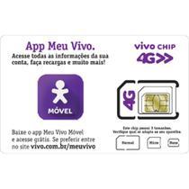 Vivo Chip Sim Card Nano 4G 128k P19HRS 4FF - Vivo -