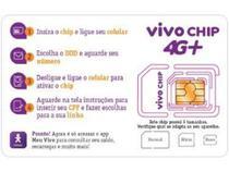 Vivo Chip Triplo Corte 4G - Pré-Pago/Pós-Pago -