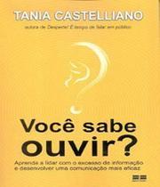 Voce Sabe Ouvir? - Aprenda A Lidar Com O Excesso - Best Seller (Record) -