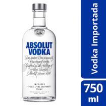 Vodka Absolut Garrafa 750 Ml - Original -