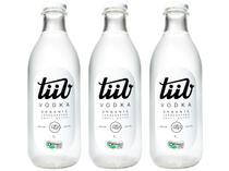 Vodka Artesanal TiiV Orgânica 1L 3 Unidades -