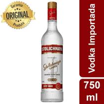 Vodka Importada Stolichnaya Premium Letonia - 750ml -