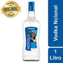 Vodka Nacional Montilla Garrafa 1 Litro -