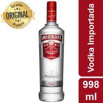 Vodka Nacional Smirnoff - 998ml -