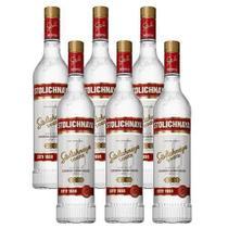 Vodka Stolichnaya 750ml 06 Unidades -