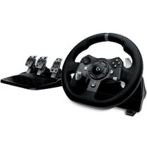 Volante c/ Pedais Logitech G920 Driving Force - Xbox One e PC -