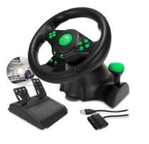 Volante C/ Vibração Xbox 360 Ps3 Ps2 Pc K-nup kp-5815A -