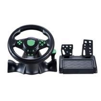 Volante C/ Vibração Xbox 360 Ps3 Ps2 Pc Knup kp-5815A -
