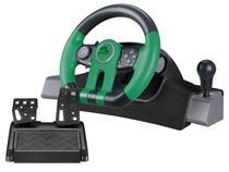 Volante com Marcha e Pedal para Xbox One/PC - Multilaser Racer 2 em 1