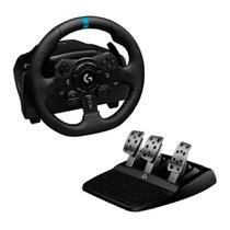 Volante de Corrida c/ pedal Logitech G923 TRUEFORCE Force Feedback PS5 PS4 e PC 941-000148 -