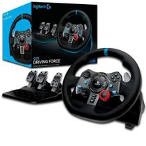 Volante de Corrida Driving Force c/ pedal Logitech G29 PS4, PS3 e PC 941-000111 -