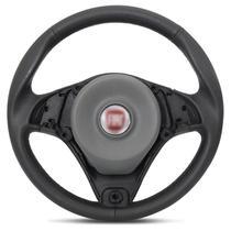 Volante Esportivo Fiat Palio Universal sem Cubo Preto com Acionador de Buzina Sem Aplique - RD Volantes