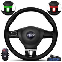 Volante Esportivo Jetta GLI Ford Ka Fiesta Ecosport Escort Courier Controle Som Multifuncional JFA - G.V