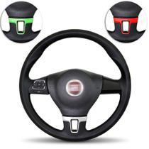 Volante Esportivo Uno Mille Fire 02 A 13 Palio Siena 96 A 13 Strada 98 A 13 Controle Som Com Cubo - Prime