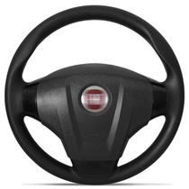 Volante Fiat Palio Siena Strada G1 G2 G3 G4 Idea Uno Stilo Punto Preto com Cubo Embutido - Cvd