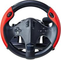 Volante Gamer c/ pedal e marcha js087 Multilaser -
